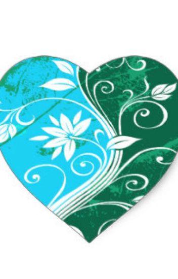 Pensamientos de un corazón (Azul y Verde)
