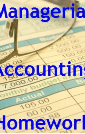 Managerial Accounting Homework - Assignment Consultancy, Inc. by assignmenthelps