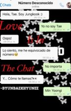 Love is in the chat {Yoonkook} by -ByunBaekhyunee
