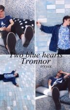 Two blue hearts | Tronnor by trxyex