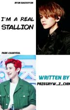 I'M A REAL STALLION // CHANBAEK by przegryw_z_chin