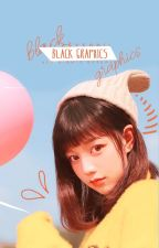 black graphics。 by aeyeonii