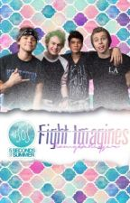 5SOS Fight imagines by RomyDeKeyser