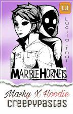 """Masky X Hoodie """"Solo Tu Y Yo"""" by Lucila_fnaf"""