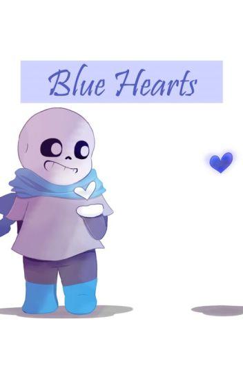 Blue Hearts (Underswap Sans x Reader)