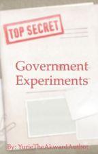 Government Experiments {AU} by YurieTheAkwardAuthor