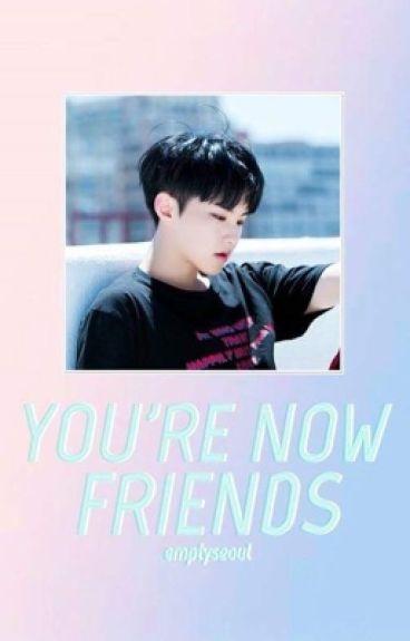 You're now friends ≫ soonhoon