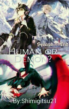 Human Or Demon? by Shimigitsu21