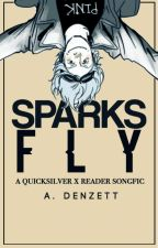 spåяκs fly | a quicksilver x reader songfic by FlaxFlame