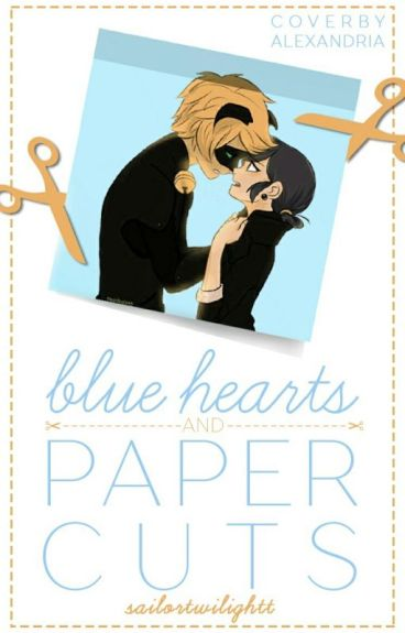 Blue Hearts And Paper Cuts