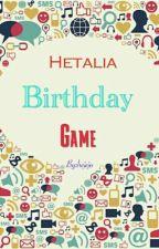 Hetalia Birthday Game by smuteg