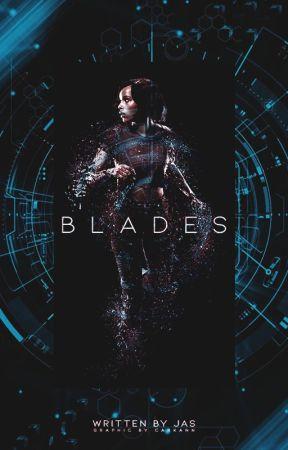 BLADES | HAWKEYE by indigogalaxyjas