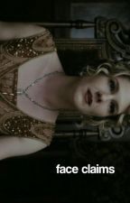 AMERICAN HORROR STORY FACE CLAIMS by AHSAPPRECIATION