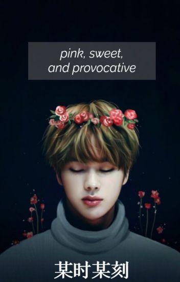 pink, sweet and provocative ⇝ knj + ksj // adap.