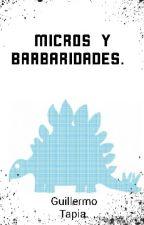 Micros y barbaridades. by Guillermotapi