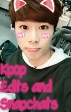 Kpop Edits And Snapchats by PeriwinkleDonuts