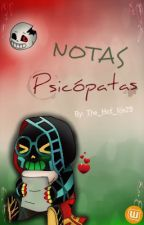 Notas Psicopatas ▶HorrorGradient◀ by The_Hot_Ice29