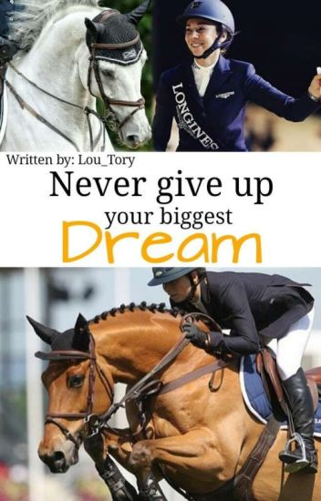 Never give up your biggest Dream