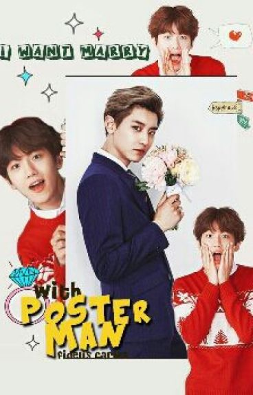 I Want Marry With Poster Man