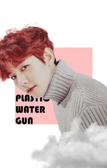 plastic water gun ❌ b.b.h