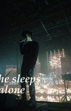 he sleeps alone | frerard by niepodobna