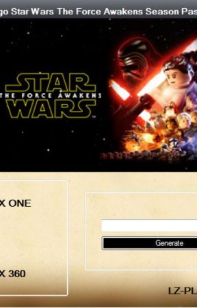 Lego Star Wars The Force Awakens Season Pass Code Download - Wattpad