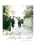 Acting like a child -Namjin by Mang_o