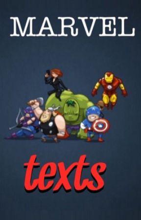 Marvel Texts by ironzpidey