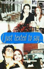 I just texted to say... || Stydia by redstringoffaith