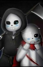 AfterDeath (Aftertale!Sans X Repaertale!Sans) by IrishTheReaperQueen