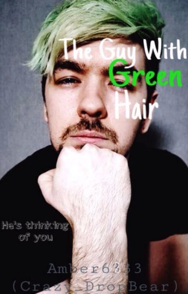 The Guy With Green Hair (Jacksepticeye X Reader)