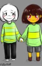 Ask Asriel and CHara (used to be Ask Flowey) by JohnLaurens_-