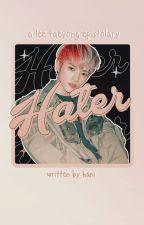 hater | taeyong by panbaeks