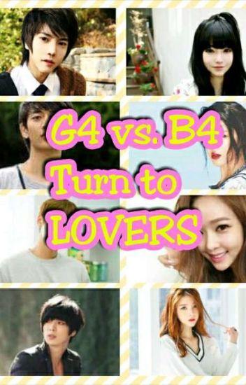 4G Vs. 4B TURN TO LOVERS