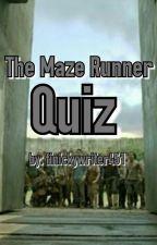 The Maze Runner Quiz by finickywriter451