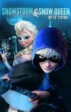 Snowstorm & Snow Queen | Jelsa  by syafnad