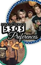 5SOS preferences by saucy5sauce