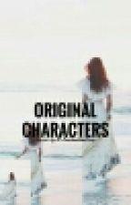 ORiginal CHaracters  by the_flower_mermaid