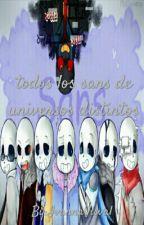 Todos Los Sans De Universos Distintos by Ivanna-Chan