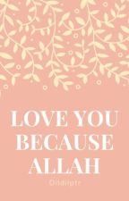 Love You Because ALLAH by Dilaxxhoran