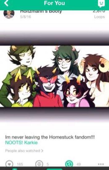 dont read a webcomic called homestuck amÉ the ajr fanatic wattpad
