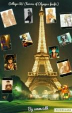 Collage AU (Heroes Of Olympus Fanfic) by frazel1shipper