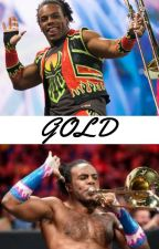 Gold- Xavier Woods.{DISCONTINUED} by theawkwardcookie