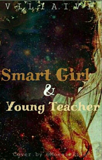 Smart Girl And Young Teacher