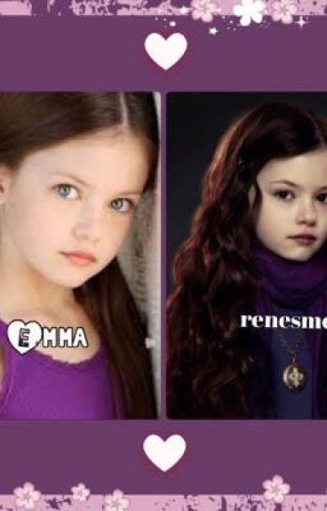 Emma grace Cullen ( renesmee's twin )