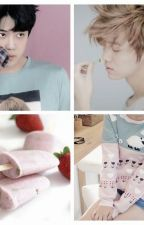 Of strawberry popsicles and pastel pink sweatshirt ~ Hunhan Oneshot by softyixing