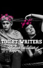 Toilet Writers→narry (italian traslation) by hxrrysmemoriesxx