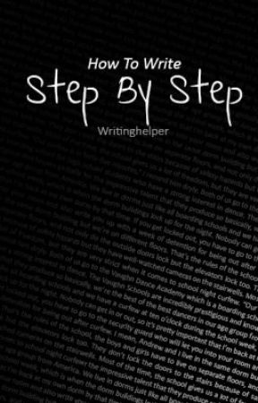 Step By Step by writerbugTips