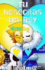 Tu Necesitas Un Rey ♥ | Alphys X Sans | One-Shot | by TortugaKawaii02