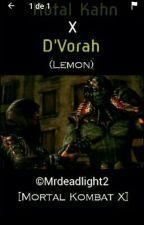 Kotal Kahn X D'vorah (Lemond) by Mrdeadlight2